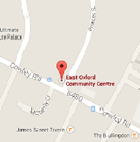 East Oxford Map